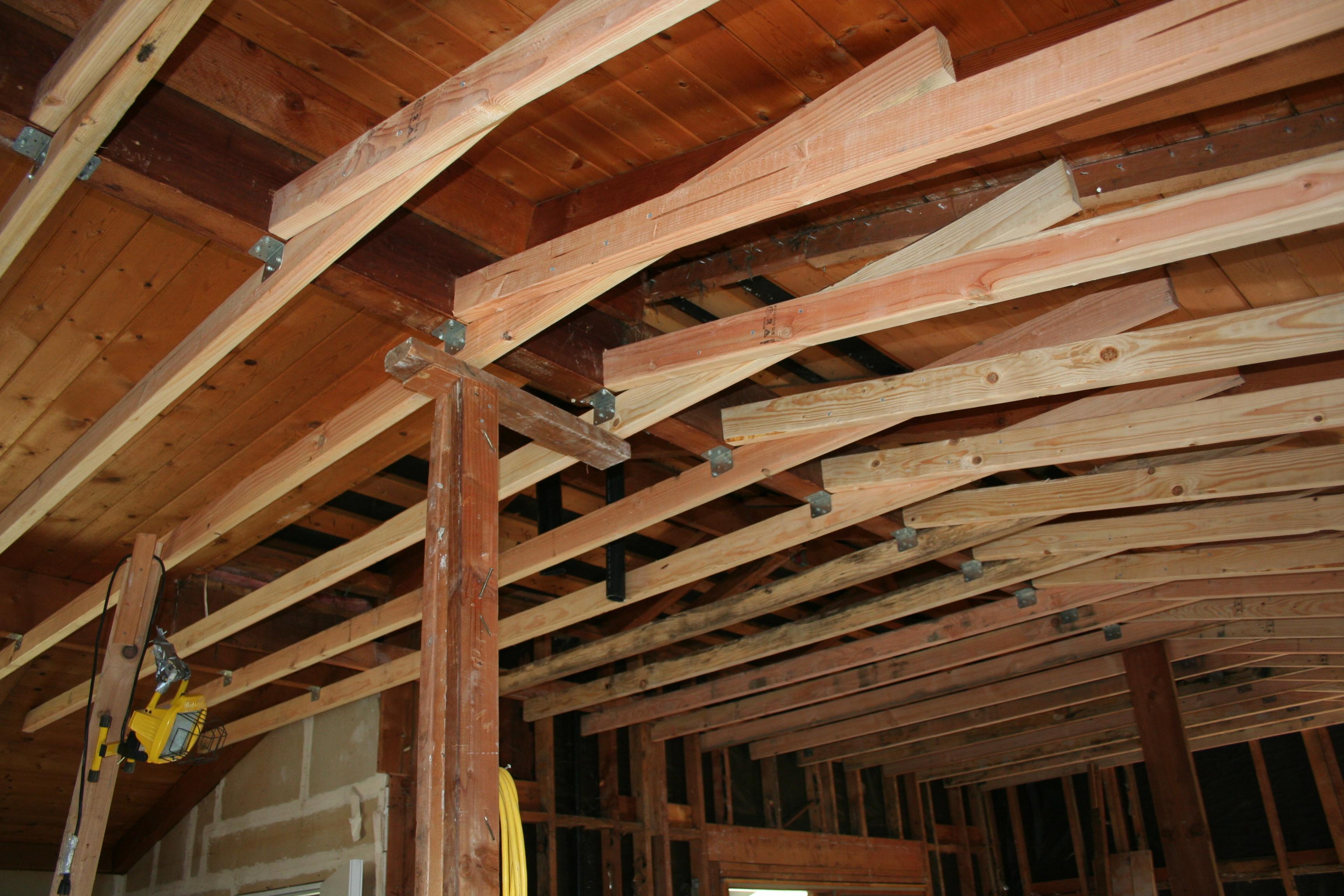 Removing ceiling joists garage gradschoolfairs