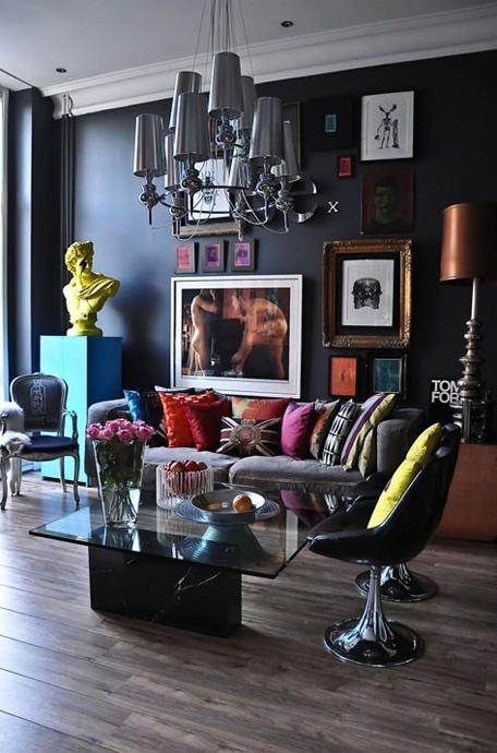 A glamorous home
